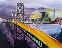 Bay Bridge Evening
