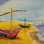 Van Gogh's Fishing Boats
