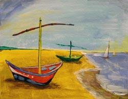 Van Gogh's Fishing Boats