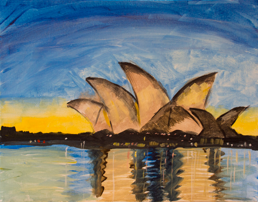 Evening Show at the Sydney Opera House