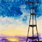 The Impressionist Sutro Tower Sunset