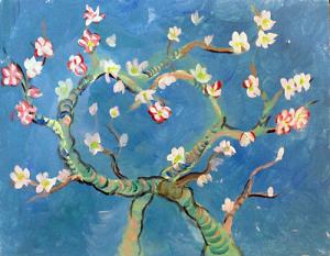 Van Gogh's Almond Tree Valentine's Day Edition